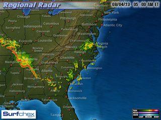 Kure Beach NC Surf Report Webcam and Weather - SurfChex com