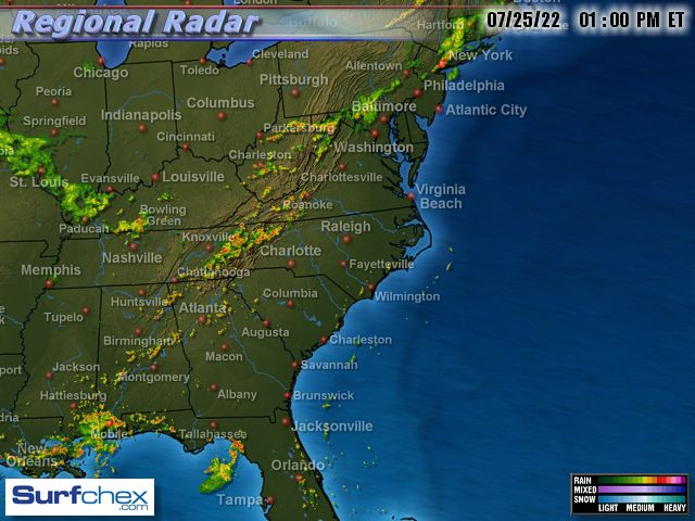Wrightsville Beach Weather Live Web Cams And Surf Reports - Orlando weather radar loop